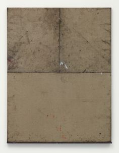 untitled  2011, Canvas, graphite, oil, wood, 97 x 74 cm / Oscar Murillo