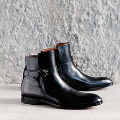 Perfection.  Antonio Maurizi.  Only at 124.  #124shoes #124sydney #antoniomaurizi #eliamaurizi #mensboots #buckleboots #blackboots #italianboots #mensshoes #shoes #italianshoes #madeinitaly #fattoinitalia #artisan #artigianale #handmade #fattoamano #thegaleries #emporiummelbourne #calfskin #sydney #melbourne