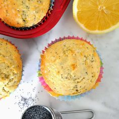 Cooking with Manuela: Homemade Lemon-Poppy Seed Muffins