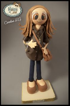 Muñeca fofucha personalizada