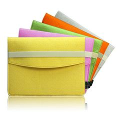 Sharp Colour Series Felt iPad Mini Sleeve iPad Mini by lavievert, $25.00