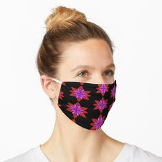 """""""Multicolor Cardigan Corgi Face Pattern - version two"""" Mask by wagnerps Iris Flowers, Colorful Flowers, Botanical Flowers, Hibiscus Flowers, Jennifer Aniston, Camouflage Pattern, Golden Red, Bandana Styles, Cute Black Cats"""