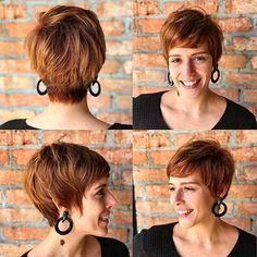 Best Short Layered Haircuts for Women Over 50 - The UnderCut Layered Haircuts For Women, Popular Short Haircuts, Short Bob Haircuts, Short Hair Cuts For Women, Short Hair Styles, Bob Hairstyles For Fine Hair, Pixie Hairstyles, Pixie Haircut, Short Hairstyles For Women
