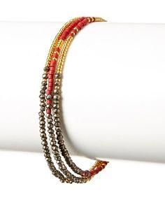70% OFF Shashi Pyrite Blaire Bracelet
