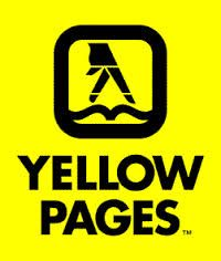 Yellow Pages directory walking fingers logo