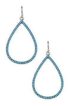 Oblong Drop Earrings by Lucky Brand on @HauteLook