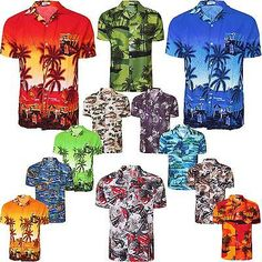 #Hawaiian mens #shirt #floral rockabilly surf beach party holiday stag dance,  View more on the LINK: http://www.zeppy.io/product/gb/2/390589133448/