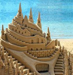 Sand castles....