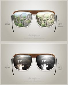 Admit it: The world looks better with Instagram. We don't dispute this whatsoever, which is why we are so excited to share this product concept with you. German designer, Markus Gerke has developed a way to integrate Instagram into a pair of sunglasses that allow users to view the world with a desired filter. The Instaglasses (or, Insta, for short) have filters built into the lenses of the glasses that can be changed with the press of a button, but are also equipped to take photos of the…