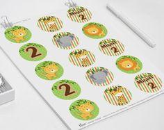 Safari - Tags Digitais    Tags Digitais - Chá de Bebê    #adesivo #tags #personalizados #papelaria #personalizada #ninedesign #elo7 #latinhas #minttobe #rotulos #festa #aniversario #kitfesta #imprimir #artedigital #arteonline #nascimento #bebê #lembrancinha #safari #floresta #selva #leao #girafa #elefante #onça #animais