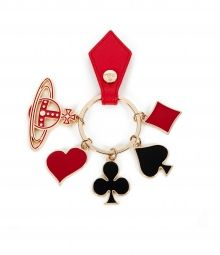 5e3132c8e54 POKER KEYRING 32706 by Vivienne Westwood Christmas Gift Guide, Christmas  Gifts, Stocking Fillers,