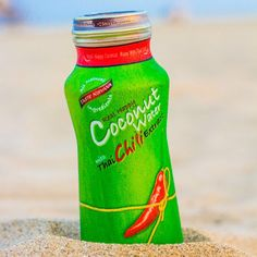 """Do you need a little spice on your #coconutwater ? Try #realcoconutwater with #thai #chili you may enjoy little surprise with this product LOL…"""