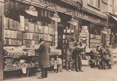 A second hand bookshop, Charing Cross Road, London
