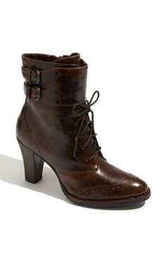 i love the design. in black, with a rounded toe, it'd be perfect.    Børn 'Cranford' Bootie #nordstrom