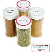 pretty martha stewart labels for the kitchen