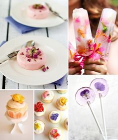 Today's Special: All-purpose Flower Recipes Though you may not want to chow down on them like you would a bag of pretzels, these edible flowers are a frighteningly wonderful way to make what you bake or cook look incredible!