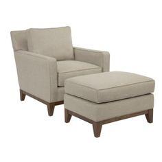Quinn Chair with Ottoman