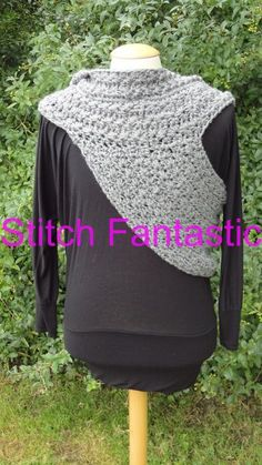 Hooded Katniss Cowl by StitchFantastic | Crocheting Pattern - Looking for your next project? You're going to love Hooded Katniss Cowl by designer StitchFantastic. - via @Craftsy