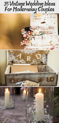 35 #Vintage Wedding Ideas FOR Modern-Day Couples #elegantwedding #Gardenweddingdecor #weddingdecorCandles #weddingdecorNight #Romanticweddingdecor #weddingdecor2018 Rustic Garden Wedding, Wedding Cake Rustic, Mod Wedding, Wedding Reception Centerpieces, Wedding Chairs, Wedding Table, Wedding Getaway Car, Vintage Bunting, Wedding Company