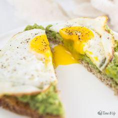 sunny-side-up-tone-it-up avocado toast.