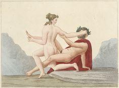 Bibliothèque de Valenciennes, Le Musée de Naples, Famin (auteur), Delvaux (graveur), éd. 1836