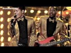 Bruno Mars - Runaway Baby Grammy Awards 2012 Performance Pictures! (Live Version)