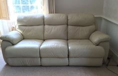 3 #seater and 2 #seater reclining #leather #sofas,  View more on the LINK: http://www.zeppy.io/product/gb/2/131794236553/
