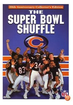 Super Bowl Shuffle -- We're not here to start no trouble, we're just here to do the super bowl shuffle. I remember my mom making cookies with blue and orange food coloring for my elementary school class the year the Bears won the super bowl! 1985 Chicago Bears, Chicago Bears Super Bowl, Super Bowl Shuffle, Bears Football, Football Players, Football Season, Football Rules, Sport Football, Baseball