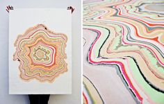 snedker°studio, founded by Pernille Snedker Hansen, is an interior surfaces design firm that has created a beautiful line of marbled wood floors