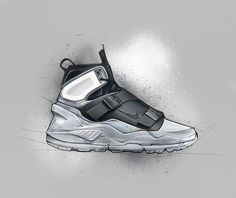 Testing new brushes in Procreate Shoe Sketches, Fashion Sketches, Drawing Sketches, Sneakers Sketch, Nike Shoes, Sneakers Nike, British Short Hair, Oufits Casual, Industrial Design Sketch