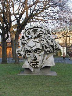 BEETHOVEN - outside Beethoven Halle - Bonn, Germany