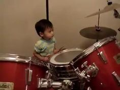 Flash Musical, Watch Funny Videos, Funny Video Clips, Rock Videos, Kids Laughing, How To Play Drums, Talent Agency, One Year Old, Rock Bands