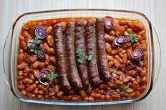 Day Macedonia and Tavče gravče – Raffi Matcha Macedonian Food, Dried Beans, White Beans, Matcha, Sausage, Stuffed Peppers, Dishes, Vegetables, Cooking