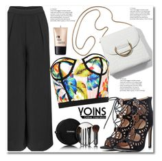 """""""Yoins #3"""" by aida-nurkovic ❤ liked on Polyvore featuring Charlotte Russe and Chanel"""