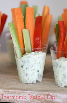 Whether you& planning a party, or just after a healthy and delicious dip to pop into the fridge, our Thermomix Tzatziki Dip is for you! Tapas, Tzatziki Recipes, Aperol, Lunch Box Recipes, Party Recipes, Dinner Recipes, Appetisers, Greek Recipes, Meals For One