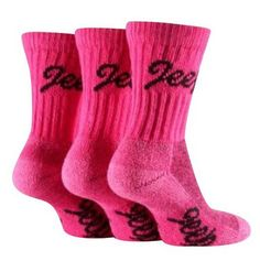 Pink Jeep socks ! Perfect to wear during breast cancer awareness month! 3 pairs package for $12.99