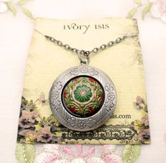 Locket Necklace by ivoryisis - Handmade in KC member