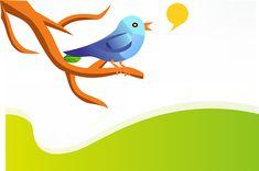 Tweet, Twitter, Vogel, Blauw, Takje