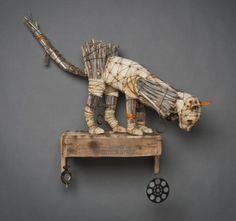 ronbeckdesigns: recycled art | Geoffrey Gorman