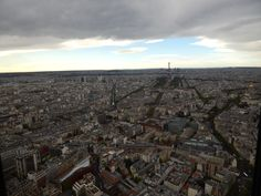 #PanoramicViewofParis #Panorama #Paris #CloudyParis #ViewfromMontparnasse #Montparnasse