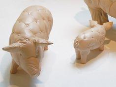 'tufted pigs' by yvonne fehling & jennie peiz.