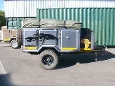 Metalian Maxi 4×4 Off Road Camping Trailers9