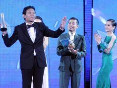 Anugerah Skrin 2013, Stadium Malawati. Khir Rahman winning Best Supporting Actor.