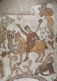 Mosaic: Medieval Italy. Cattedrale di Otranto, Lecce, Puglia
