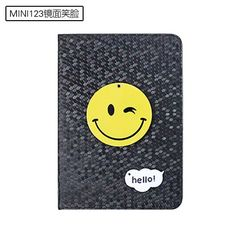 IPad protective Cartoon case with a smile amp ice cream for inch
