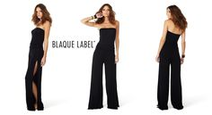 Blaque Label Tube Top Jumpsuit