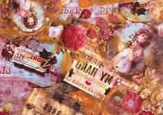 "Decoupage a Victorian craft ""Victorian Collage"""