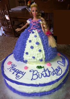 Pastel de Rapunzel