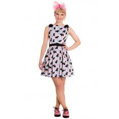Robe Rockabilly Pin-Up Lolita Rock Scottie