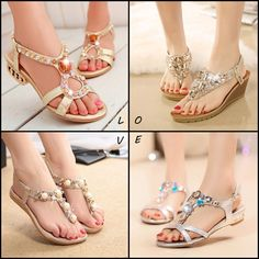 Awesome #Sandals   Find More: http://www.iamaddictedtoyou.com/